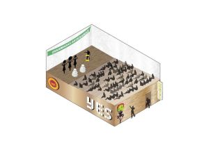 Antipalacio, propuesta de uso del edificio GESA como punto de encuentro